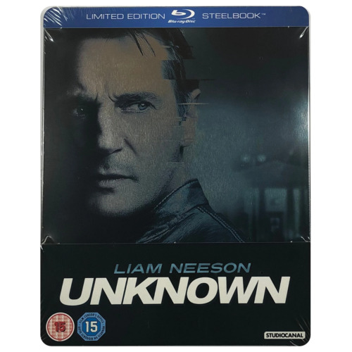 Unknown Steelbook - UK Exclusive Very Limited Edition Blu-Ray **Region B**