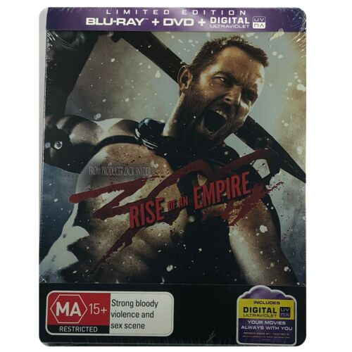 300: Rise of an Empire Steelbook - Australian Exclusive Limited Edition Blu-Ray
