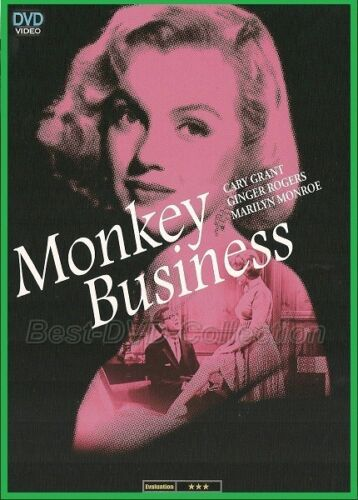 Monkey Business (1952) - Cary Grant, Marilyn Monroe - NEW DVD