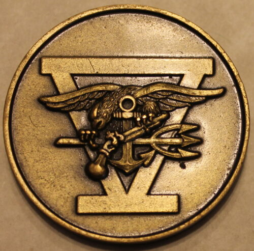 Naval Special Warfare SEAL Team 5 Navy Challenge Coin / Five / Original Heavy V1Original Period Items - 13983