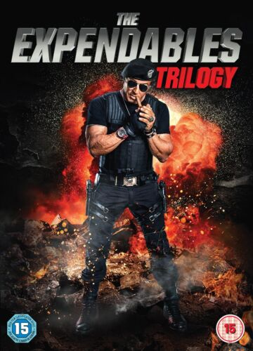 The Expendables 1, 2 & 3 Trilogy DVD New Sealed Sylvester Stallone Jason Statham