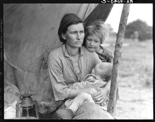 Masters of Photography: Migrant Mother #2, 1936 by Dorothea Lange: Digital Photo