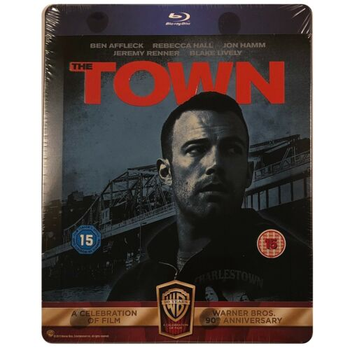 The Town: Alternate Cut Steelbook - UK Exclusive Limited Edition Blu-Ray
