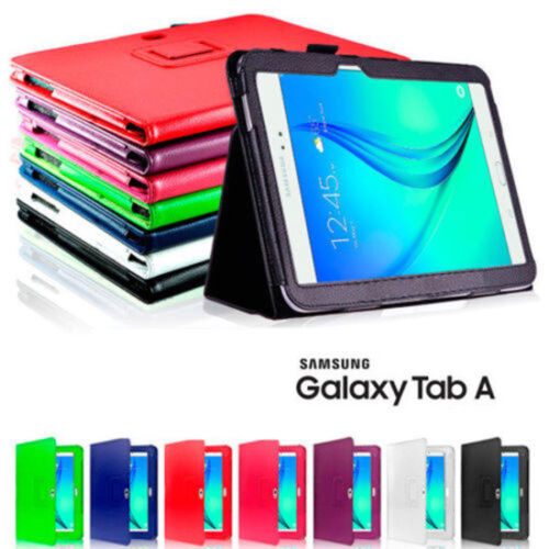 "Flip Leather Case Cover For Samsung Galaxy Tab A 10.5"" 10.1"" 9.7"" 8.0"" 7.0"" S5e"