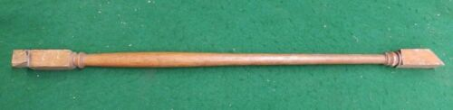Antique Turned Wood Spindle Baluster Oak Staircase 4658-15