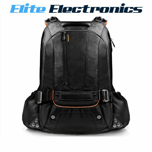 "EVERKI 18"" BEACON LAPTOP BACKPACK W/ GAMING CONSOLE SLEEVE EKP117NBKCT"