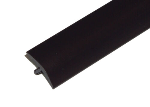 """20ft of 3/4"""" Black T-Molding for Arcade Games, Mame Machine, or Cabinets"""