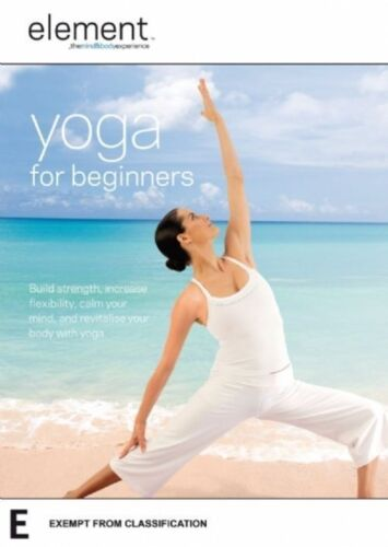 """Element: Yoga for Beginners Mind and Body Experience DVD R4 New """"sale"""""""