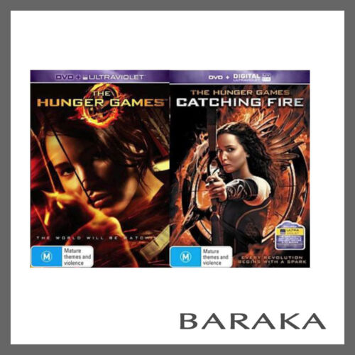 The Hunger Games / The Hunger Games: Catching Fire DVD R4 New