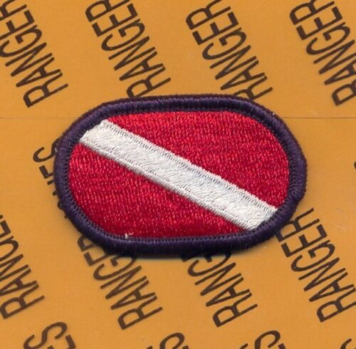 US Army 82nd Personnel Services Bn PSB parachute oval patch T-2 Blue border m/eOther Militaria (Date Unknown) - 66534
