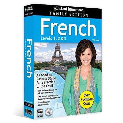 Instant Immersion French BEST SELLING LEARNING SOFTWARE NEW EXPRESS POST