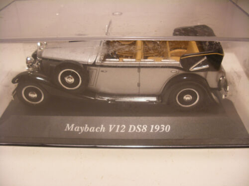 voiture 1/43 eme IXO ALTAYA Classics MAYBACH V12 DS8 1930