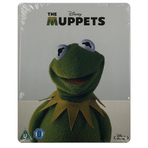 The Muppets Steelbook - UK Exclusive Limited Edition Blu-Ray **Region Free**