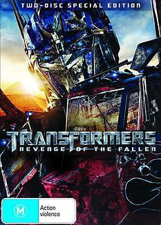 TRANSFORMERS REVENGE OF THE FALLEN Special Ed. (2 DVD) SHIA LABEOUF ***