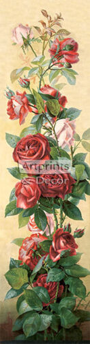 Study of Roses by V. Sangon (Art Print of Vintage Art)