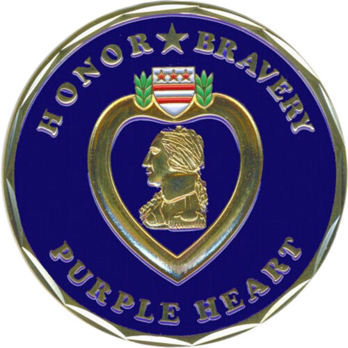 Bronze Alloy Purple Heart CoinOther Militaria - 135