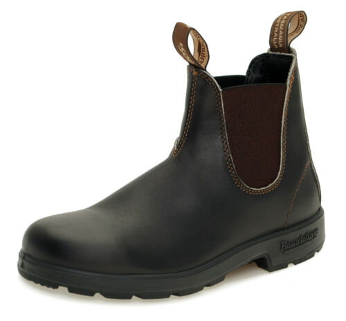 Blundstone Style 500 Australian Chelsea Boots  - Stout Brown Leather