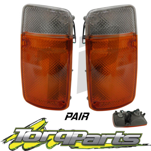 RIGHT Parker Pair Suit Nissan Patrol GQ 2 Front indicator Globes LEFT Body