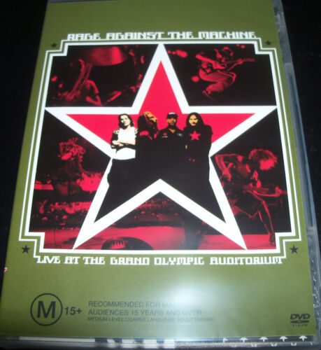 Rage Gainst The Machine Live at The Olympic Auditorium (Aust All Reg) DVD