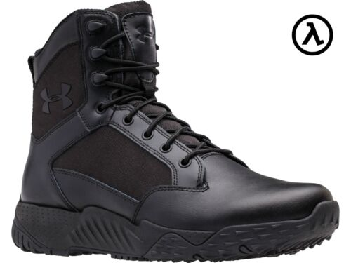 """UNDER ARMOUR UA STELLAR TACTICAL 8"""" BOOTS 1268951 / BLACK (001) - ALL SIZES"""
