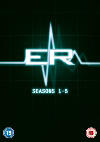 ER the Complete series Seasons 1 2 3 4 & 5 DVD Box Set George Clooney 1-5 new