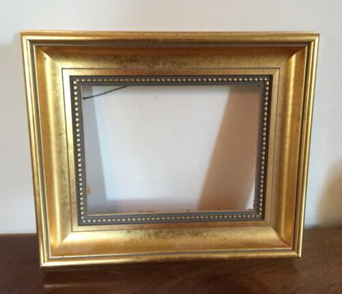 Vintage Gilt Wood Picture Frame for Drawing Watercolor Oil Painting