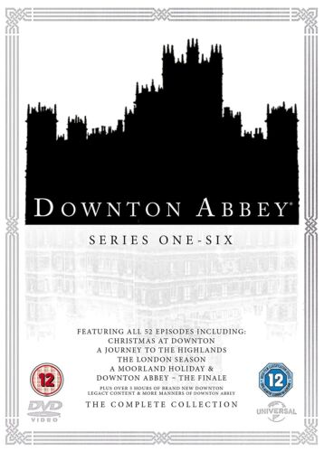 "DOWNTON ABBEY COMPLETE SEASON SERIES 1+2+3+4+5+6+all Specials DVD Box Set ""sale"""