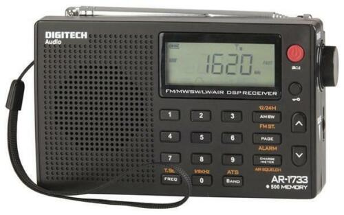 PLL World Band Radio AM FM SW LW and also Aircraft channels