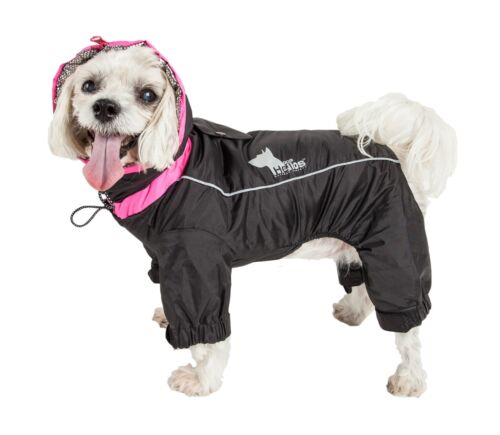 Helios Weather-King Ultimate Windproof Insulated Full Bodied Pet Dog Coat Jacket