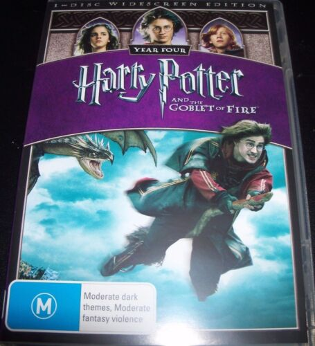 Harry Potter And The Goblet Of Fire (Aus Reg 4 R4 Widescreen) DVD – Like New