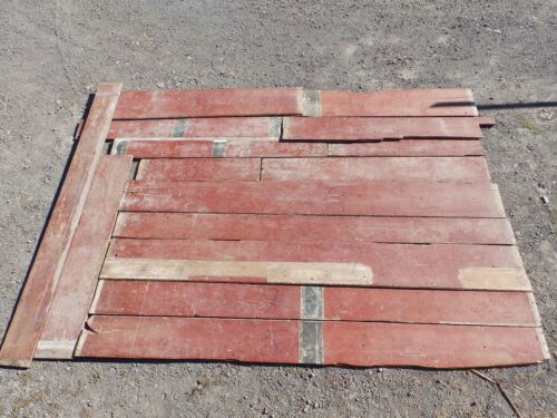 Genuine Antique Pine Wide Plank Tongue & Groove Flooring 140 sq ft Old 1772-16