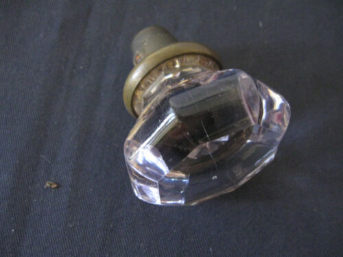 LIGHT purple violet Antique Vintage Glass Crystal Door Knob  handle hardware