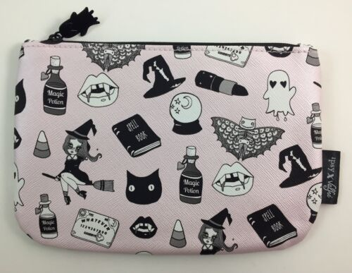 NEW Ipsy October 2016 Black Magic by Valfre Glam Bag Makeup Bag Only