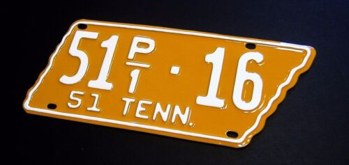 Tennessee License Plate RESTORATION SERVICE 1915 1916 1936 1937 1948 1951 1976