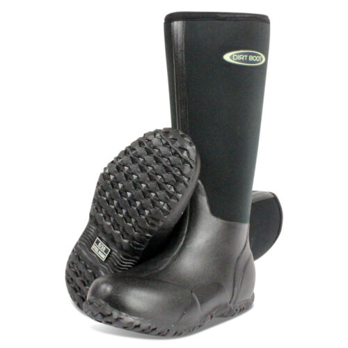 Dirt Boot® Neoprene Wellington Muck Field Fishing Boots Wellies Ladies Mens <br/> Town, County, Country, Festival, Dog, walking, mud