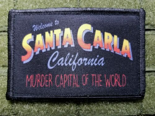 Vampire Movie - Welcome to Santa Carla Tactical hook Patch California