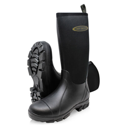 Dirt Boot® Neoprene Wellington Muck Field Fishing Boots® Wellies <br/> Town & Country, Dog walking, county & festival mud boot