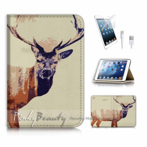 ( For iPad mini 4 ) Smart Cover & Base Case P3525 Reindeer