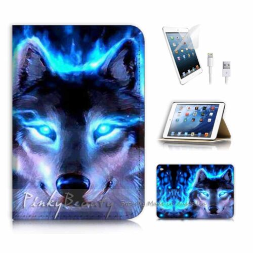 ( For iPad mini 4 ) Smart Cover & Base Case P3585 Wolf