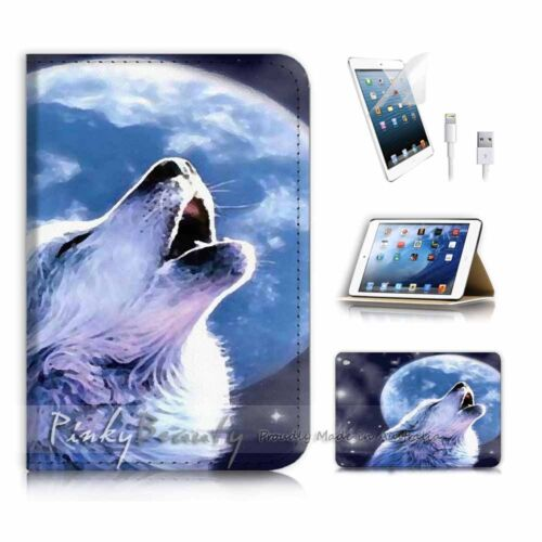 ( For iPad mini 4 ) Smart Cover & Base Case P3589 Wolf