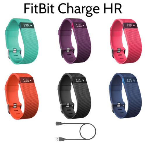 Fitbit Charge HR Activity Heart Rate + Sleep Wristband Small & Large