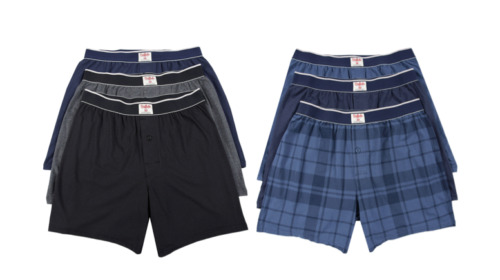 Buffalo By David Bitton Knit Boxers Size: Medium color variation listing