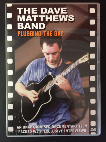 THE DAVE MATTHEWS BAND Plugging The Gap DVD Brand New & Sealed
