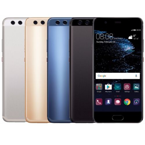 "Huawei P10 64GB VTR-L29 Dual Sim (FACTORY UNLOCKED) 5.1"" Silver Gold Black Blue"