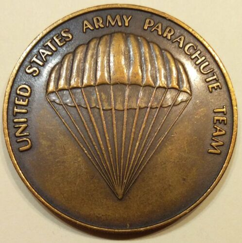 Golden Knights US Army Parachute Team Army Challenge Coin Vintage!Original Period Items - 13983