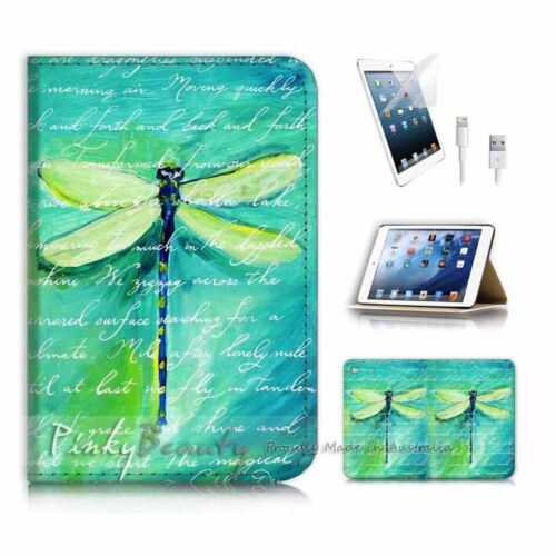 ( For iPad mini 4 ) Smart Cover & Base Case P4215 Dragonfly
