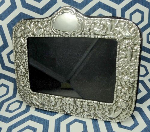 STERLING SILVER MEXICO VINTAGE REPOUSSE FRAME Birds Face