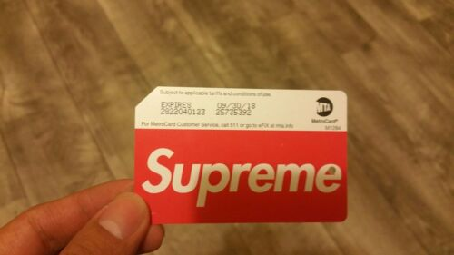 Lucky Number Supreme Metro card