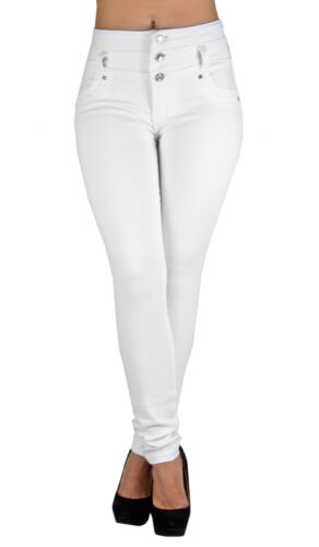 K1031 - Colombian Design, Levanta Cola, High Waist Skinny Jeans