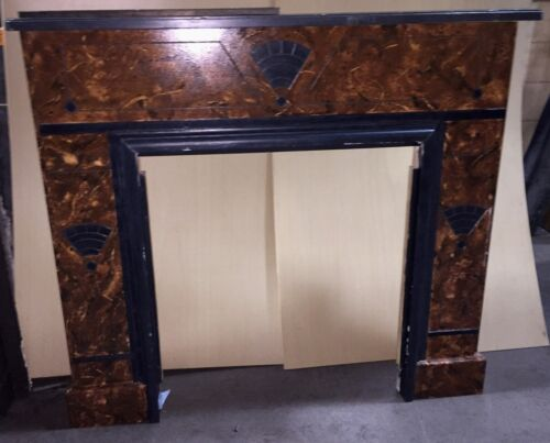 "VINTAGE FIREPLACE MANTEL  ""M560"""